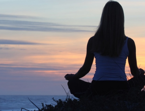 Feeling calmer with mindfulness of the breath